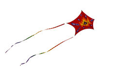 Kite, cut-out Royalty Free Stock Image
