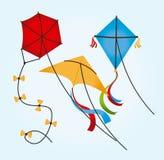 Kite design Royalty Free Stock Image