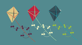 Kite design Royalty Free Stock Images