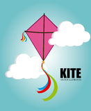 Kite design Stock Images