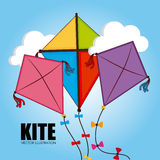 Kite design Royalty Free Stock Image