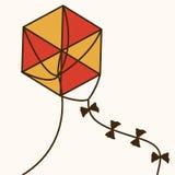 Kite design Stock Photos
