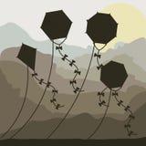 Kite design Stock Photo