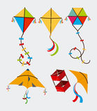 Kite design Royalty Free Stock Photography