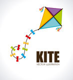 Kite design Royalty Free Stock Photography