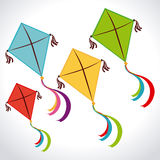 Kite design Royalty Free Stock Photo