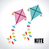 Kite design Stock Photography