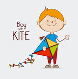 Kite design Royalty Free Stock Photos
