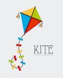 Kite design Stock Images