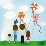 Kite design Royalty Free Stock Photo