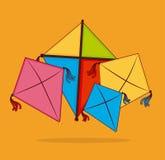 Kite design Stock Image