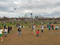 Kite festival in Austin Texas Stock Images