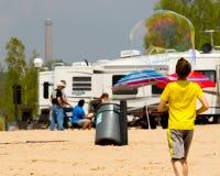 Kite Festival 2015 Grand Haven Michigan Royalty Free Stock Image