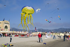 Kite festival, Imperia, Italy Royalty Free Stock Photo