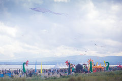 Kite festival in Ireland Royalty Free Stock Photography