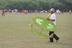 Kite Festival in Malaysia Stock Photos