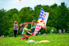 Kite festival Royalty Free Stock Images