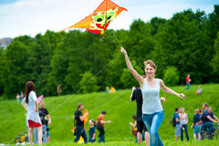 Kite festival Royalty Free Stock Photos