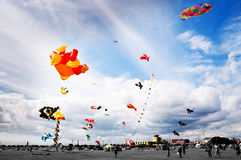 Kite festival Stock Images