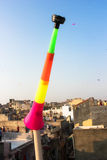 Kite festival/ Uttrayan / Makar sankranti gujarat, India. Royalty Free Stock Photo