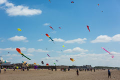 Kite Festival Weston-super-Mare Somerset Stock Photo