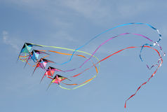Kite in flight Royalty Free Stock Image