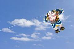 Kite-flying Royalty Free Stock Photos