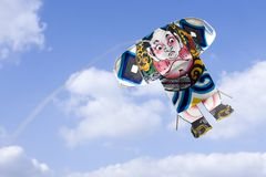 Kite-flying Royalty Free Stock Images