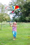 Kite flying Stock Photos