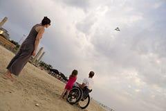 Kite Flying back Stock Photography
