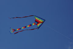 Kite flying Royalty Free Stock Photography