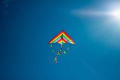 Kite flying in the sky Stock Image