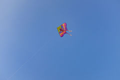 A kite flying in the sky Royalty Free Stock Photos