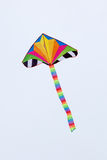 Kite flying in the wind Stock Photos