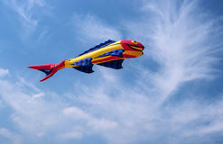 Kite in the form of fish. Stock Photography