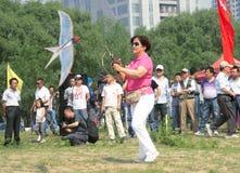 Kite game Royalty Free Stock Photos