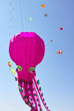 Kite game Stock Images