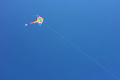 Kite with glasses royalty free stock image