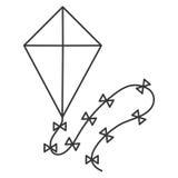 Kite icon  Stock Images