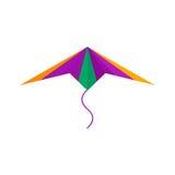 Kite icon vector. Royalty Free Stock Photos