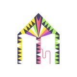Kite icon vector. Royalty Free Stock Photography