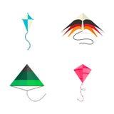 Kite icon vector. Royalty Free Stock Photo