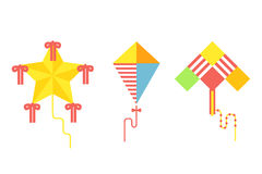 Kite icon vector. Royalty Free Stock Photography