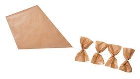 Kite isolated on white Stock Photography