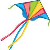 Kite isolated on white. Illustration Stock Image