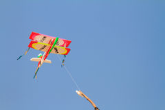 Kite made ​​of foam Royalty Free Stock Photo