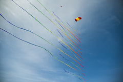 Kite with many tails Royalty Free Stock Photo