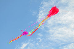 Kite. Octopus kite flying in the sky stock photography
