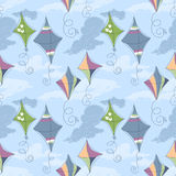 Kite pattern Stock Photos