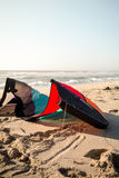 Kite on the sand Royalty Free Stock Photography